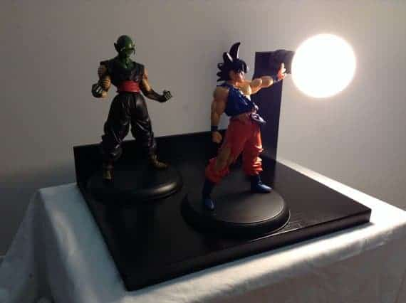 Dragon ball z lamps goku and piccolo