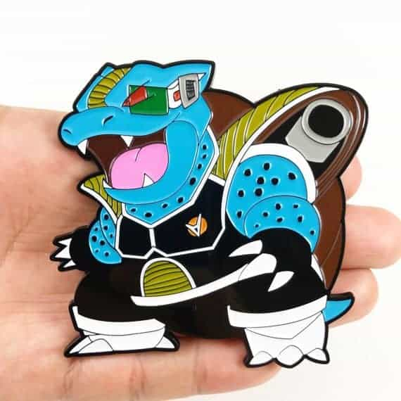 Blastoise Burter mashup pin Dragon ball z merchandise