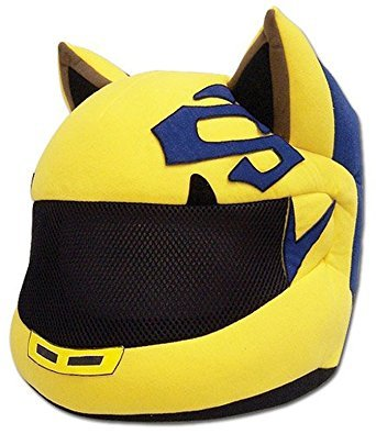 Celty motorcycle helmet plush