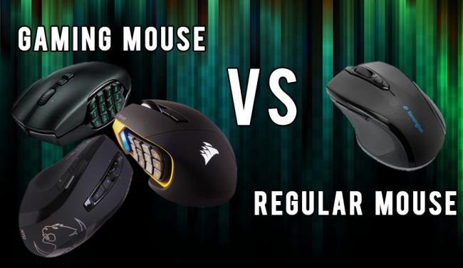 gaming mouse vs