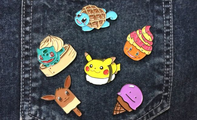 Pokemon Food Pins