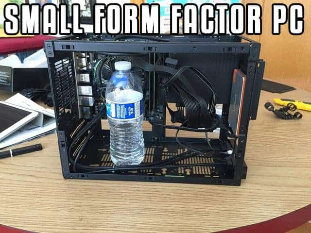 Small form factor PC sff
